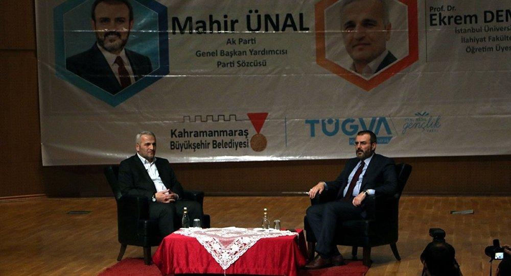 AK Parti Sözcüsü Ünal: Gülen, Yavuz Sultan Selim'in kaftanıyla Türkiye'ye gelecekti