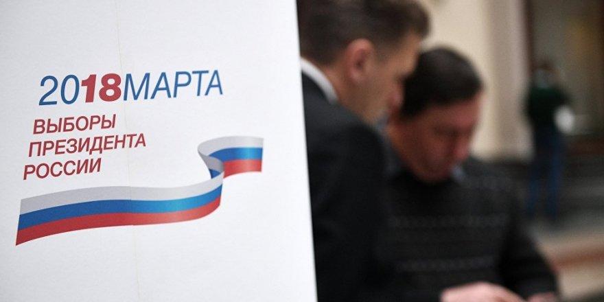 Rusya Devlet Başkanlığı seçimleri için, İlk oylar Mersin'den