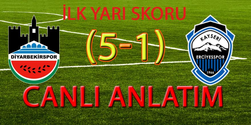 CANLI ANLATIM... Diyarbekirspor-Kayseri Ersiyespor