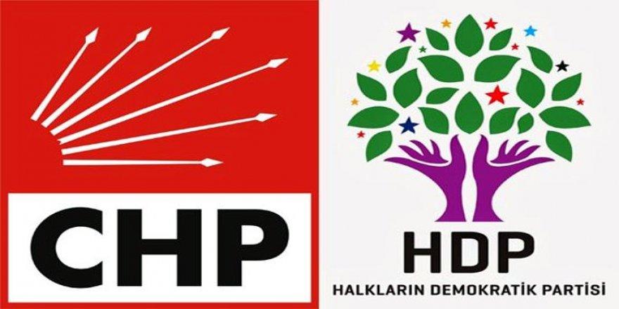 HDP'den CHP'ye tepki: Düşmanca politikalara son verin