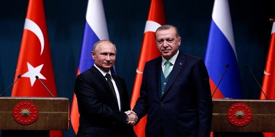 Erdoğan, Putin ile Doğu Guta'yı görüştü