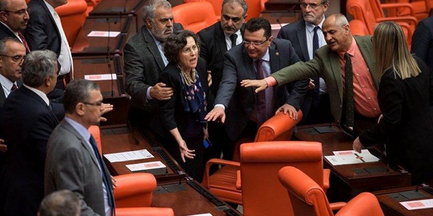 Meclis'te Afrin tartışması: HDP'li 2 vekil yaralandı