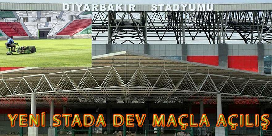 Yeni stada dev maçla açılış