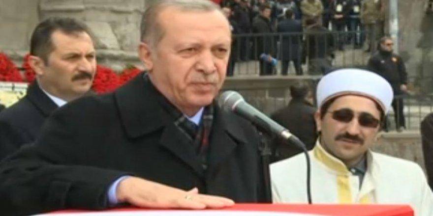Erdoğan: Rabbim bize Afrin savaşında fethi yakın kılsın