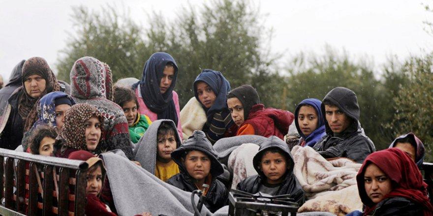 BM: Yaklaşık 48 bin kişi Afrin'den ayrıldı