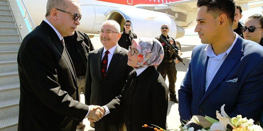 Erdoğan: Afrin'e girdik, giriyoruz