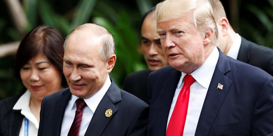 Putin ile Trump arasında telefon görüşmesi