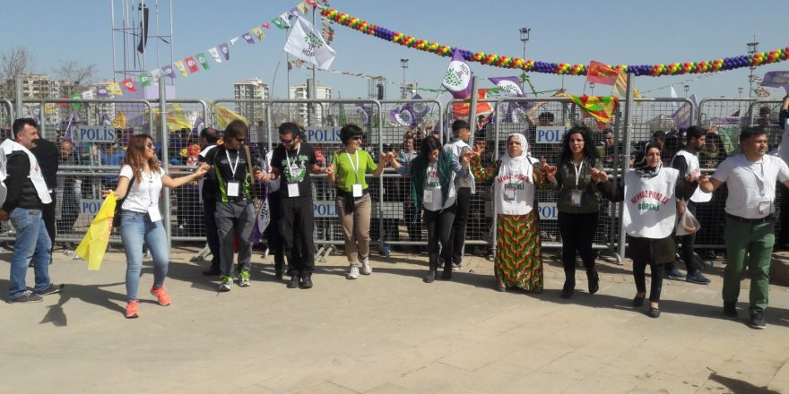 Newroz Parkı Kutlamalara hazır