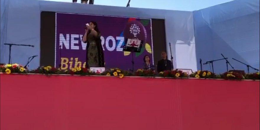 CANLI... Diyarbakır Newroz'un da HDP Eş Genel Başkanı Pervin Buldan konuşuyor.