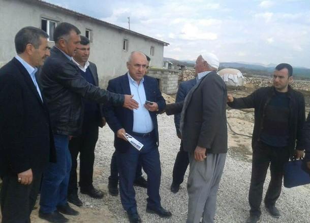 Taziye evi malzemeleri AK Parti ile CHP'yi karşı karşıya getirdi