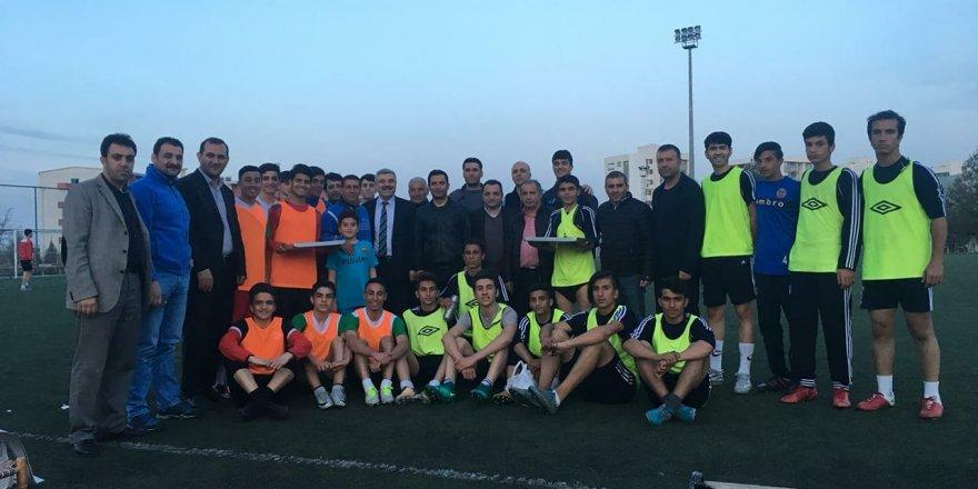 DSİ Spor'a destek ziyareti