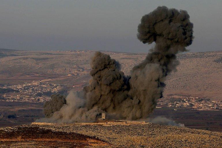 Afrin'de patlama: Ölü ve yaralı askerler var