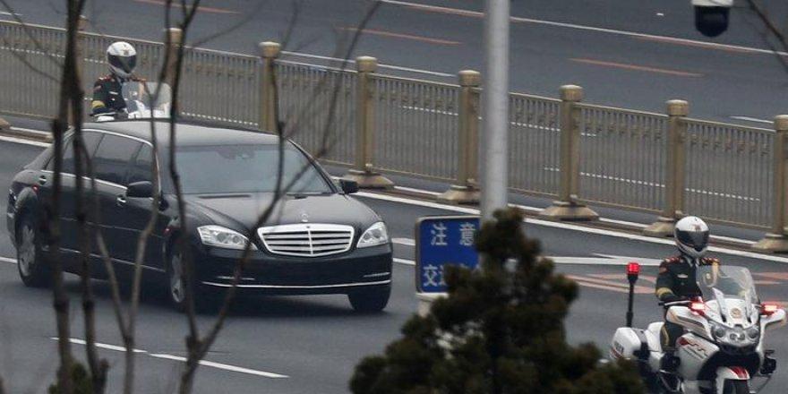 Tarihi anlar! Dünya bu aracı konuşuyor! Kuzey Kore lideri nereye gitti?
