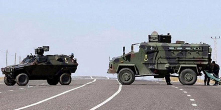 Hazro'da askeri araca saldırı: 6 yaralı