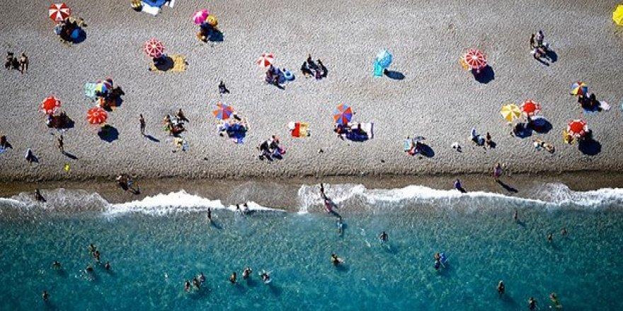 Türkiye'ye gelen turist sayısında artış