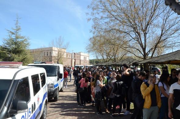 Üniversitede silahlı saldırı...
