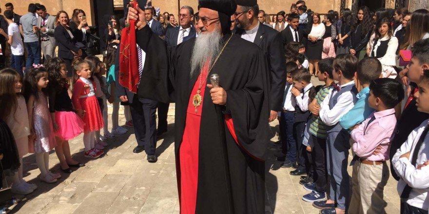 Mardin'deki Süryaniler, Paskalya Bayramı'nı kutladı