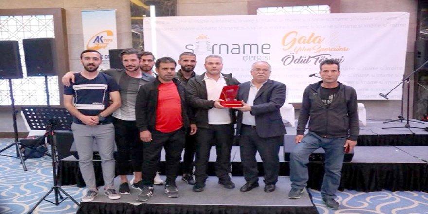 Erganispor'a Anlamlı Ödül