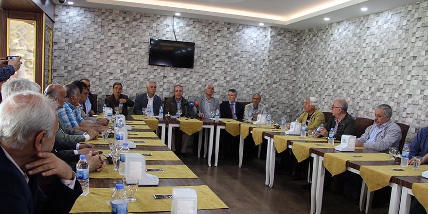 Kürt partilerden taşeron işçilere destek