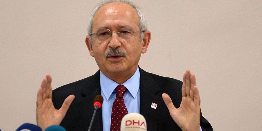 Kılıçdaroğlu: Egemen güçler bölgeden çekilmeli