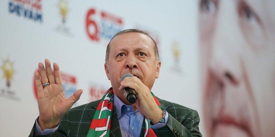 Erdoğan: İsteseler de istemeseler de Kanal İstanbul'u yapacağız