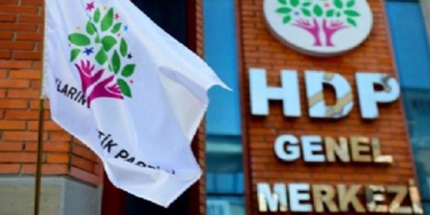 HDP'den olağanüstü toplantı kararı