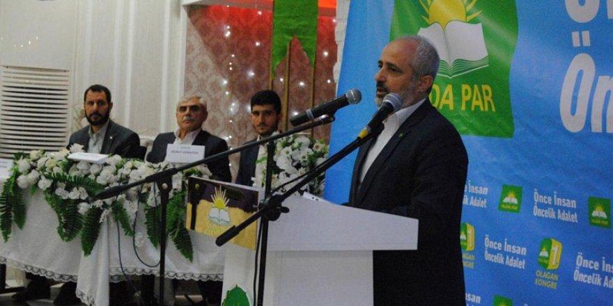 Hüda-Par'dan AKP'ye 'siyasi ahlaksızlık' tepkisi