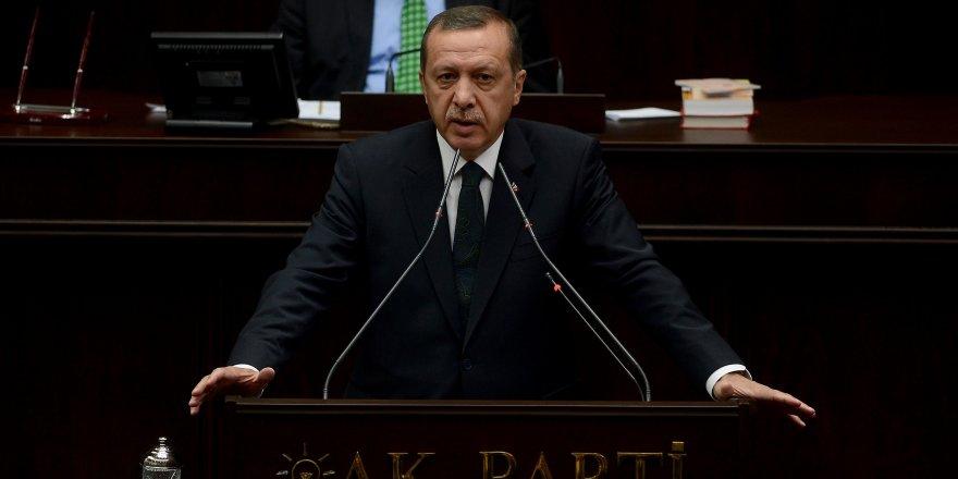 Erdoğan: Çok garip bir senaryo var ortada