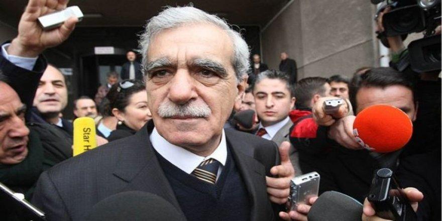 Ahmet Türk: Erdoğan'ın eline koz verilmemeli