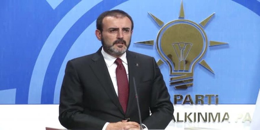 AK Parti: Herkes parmağına sahip çıksın