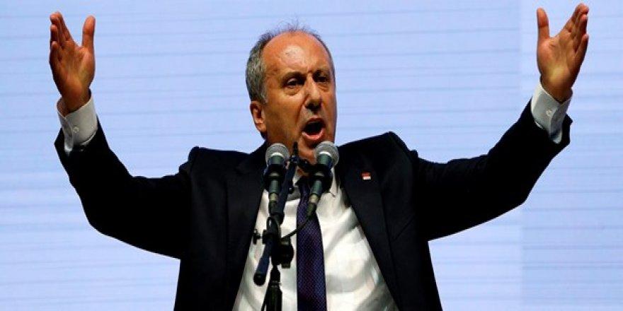 İnce: Gül aday olursa Erdoğan'a oy veririm