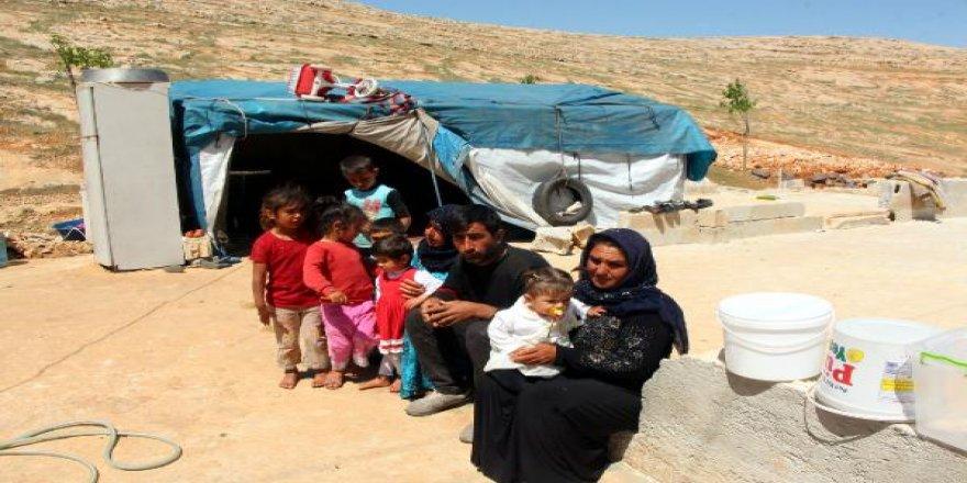 11 Kişilik aile 2 yıldır çadırda yaşıyor