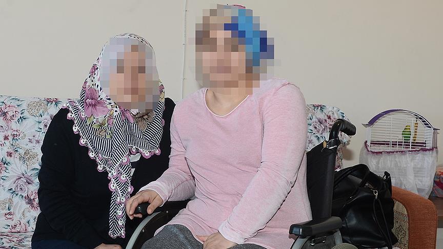 Şiddet mağduru annenin yaşam mücadelesi