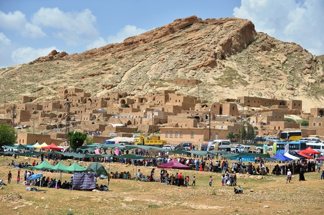 Mardin'de 8 bin yıllık bayram kutlandı
