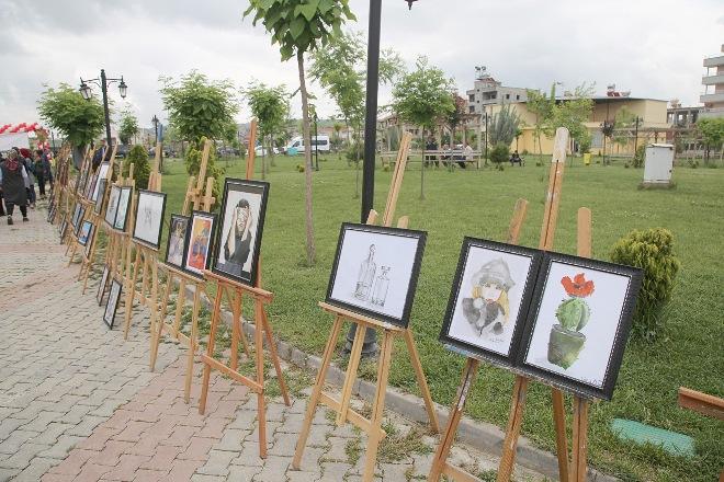 Siirt Belediyesinden yılsonu sergisi