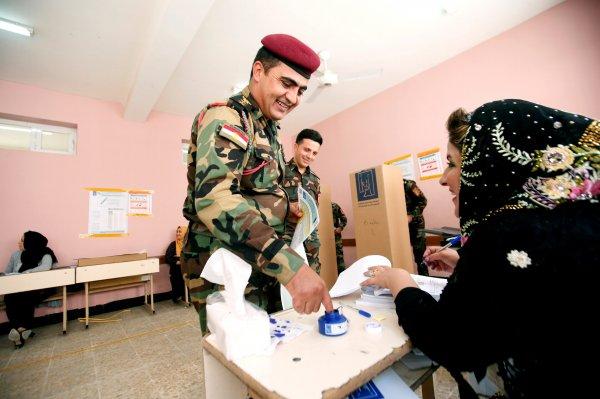 Irak Parlamento, seçim sonuçları