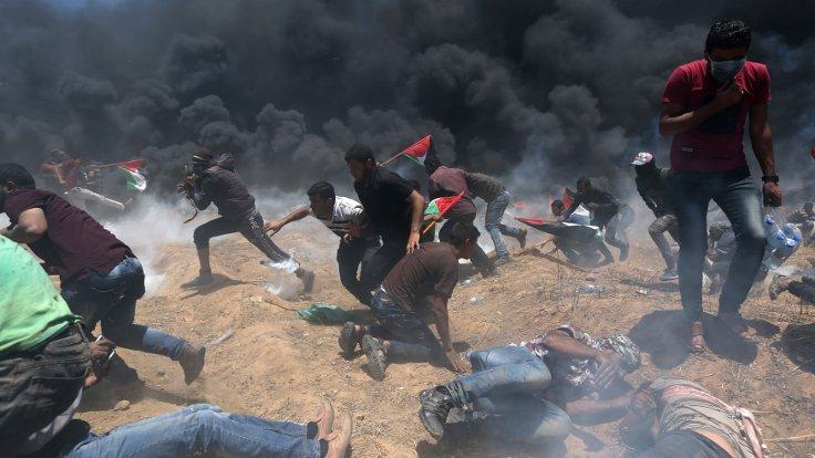Kudüs protestosu: 41 ölü binlerce yaralı