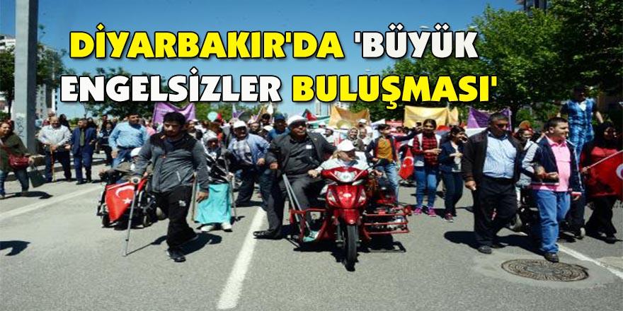 Diyarbakır'da 'büyük engelsizler buluşması'