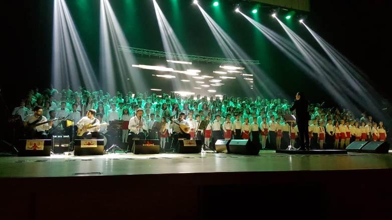 Bahçeşehir Kolejinde'den müzik ziyafeti