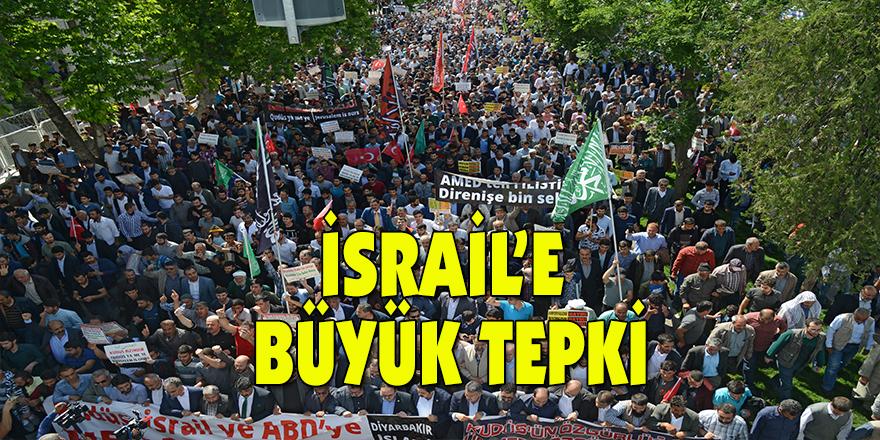 İsrail'e büyük tepki