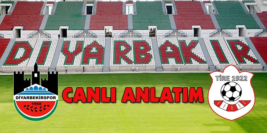 Diyarbekirspor- Tire 1922 play-off yarı final maçı