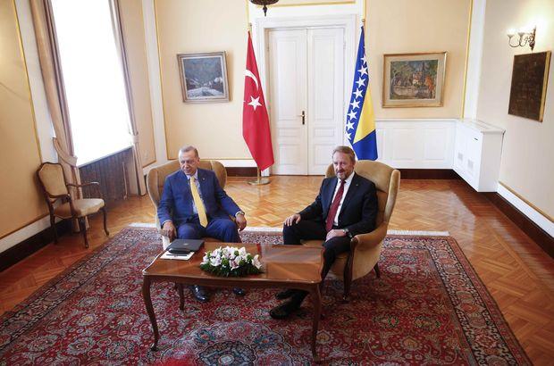Erdoğan: Suikast bilgisi ulaştığı için buradayım