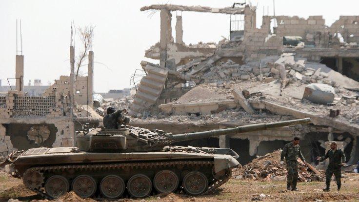 IŞİD'in Şam'daki son kalesini alındı
