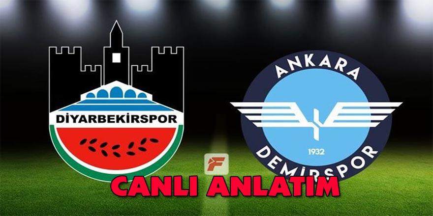 Diyarbekirspor- Ankara Demirspor maçı