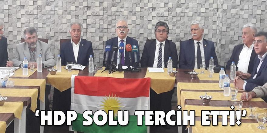 'HDP solu tercih etti!'
