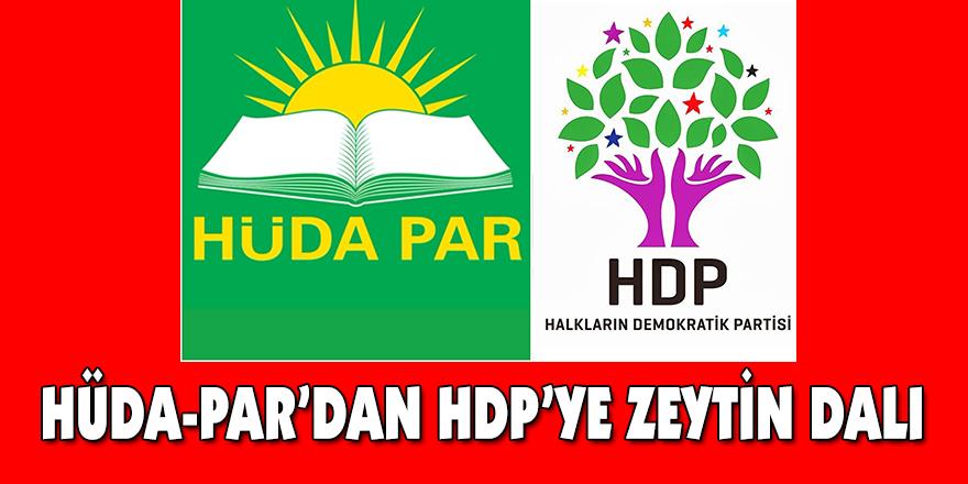 HÜDA-PAR'DAN HDP'YE ZEYTİN DALI