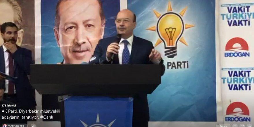 CANLI YAYIN...  AK Parti, Diyarbakır milletvekili adaylarını tanıtıyor.