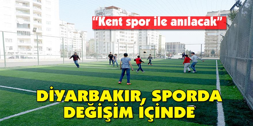 Diyarbakır, sporda değişim içinde