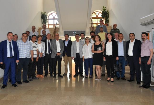 Ermenistan iş heyetinden DTSO'ya ziyaret