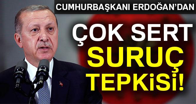 Cumhurbaşkanı Erdoğan: Saldırıyı şiddetle kınıyorum'